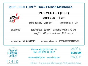 Cell Culture label