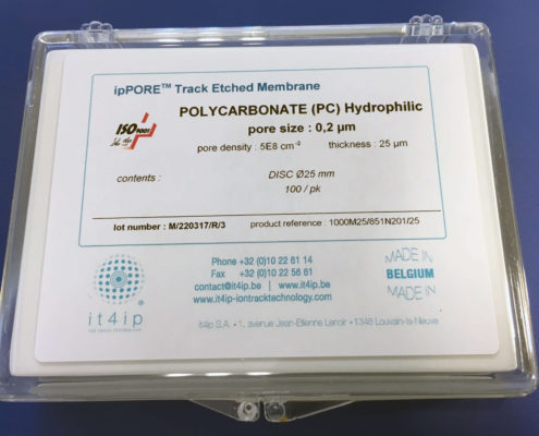 polycarbonate track etched membrane filters