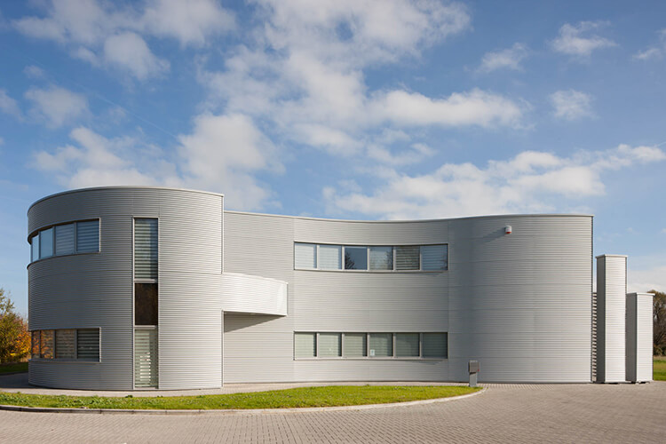 New it4ip building in Louvain-la-Neuve